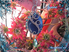 pizap.com14546843149761 (Margherita-art) Tags: blue agate alpacca german silver fantasy italian handmade sea