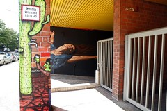Urban Nations Project M9, Berlin (bsdphoto) Tags: streetart berlin art schneberg deutschland kunst haus urbanart gebude blauerhimmel deu sonnenschein brgersteig gehweg passanten projectm blowstr vaterundtochter urbannation fusgnger blowstrase projectm9 bullougy