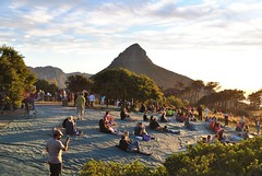 Sunset // Lion's Head (Alice Stedman) Tags: lionshead capetown southafrica sunset people crowd gathering light shadow adventure discover travel life explore