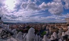 PanoVeneziaHDR (ansacariofoto) Tags: italy panorama rome roma clouds nuvole vittoriano lovelycity atx116prodx tokina1116 nikond5000