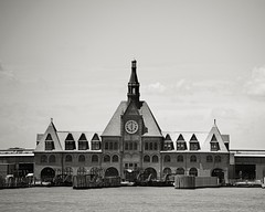 Jersey City Terminal (Photographs By Wade) Tags: newjersey jerseycity immigrants libertystatepark historicbuilding newyorkharbor jerseycityterminal