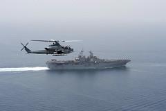 Viper on patrol (MarineCorpsAviationAssociation) Tags: boxarg13meu16 ussboxerlhd4 amphibiousreadinessgroup 13thmarineexpeditionaryunit 13thmeu usmarines usnavy cpr1 ah1zviper straitofhormuz arabiangulf