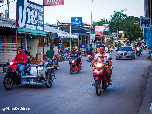 Daily commute Thai Style