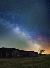 // The Shed (wetography) Tags: astro milky way sony a7s canon 6d astrophotography outdoor shed field nightsky nightscapes summernight world night astrometrydotnet:id=nova1653784 astrometrydotnet:status=solved