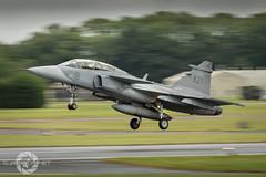 """ Stens Gripen' (SJAviation.net) Tags: gripen aircraft nikon aviation riat jet airshow swedishairforce panning"