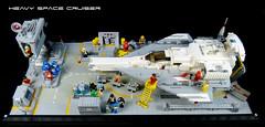 Classic Space Scene 02 (tastenmann77) Tags: lego space spaceship