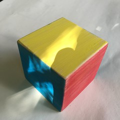 Red, Blue, Yellow (Artotem) Tags: cubed cubism squared art arte