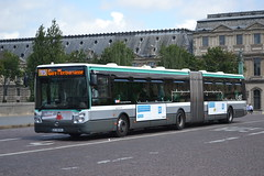 RATP Paris 1658 CY-192-HL (Will Swain) Tags: paris 4th july 2016 bus buses transport travel vehicle vehicles county country europe france french city centre capital ratp 1658 cy192hl pont du carrousel