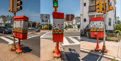 Life Is Sweet Triptych | Malden Switchbox Project (Facundity) Tags: triptych streetart publicart malden maldenartsorg urbanart walkboston switchbox massachusetts panoramic gumballmachine intersection outdoor
