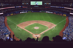 Moneyball (Daniel Bissill Photography) Tags: canada toronto ontario bluejays baseball sport summer evening stadium rogerscentre fans crowd explore exploration sony sonya7ii sonya7 outdoors moody composition zeiss adventure travel tourism matchday mlb