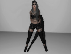 Zeno's Closet Look #9 (Zeno.Lynn) Tags: sl secondlife single avatar fashion goth grunge