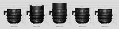 20160907_01_SIGMA CINE LENS Series & 85mm F1.4 DG HSM ART? (foxfoto_archives) Tags: sigma cine lens ff 20mm 24mm 35mm 50mm 85mm f14 dg hsm art ex comparison