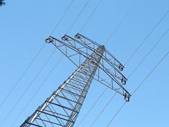Strommast (gittermasttyp2008) Tags: strommast strommasten strom stahl stahlgittermast starkstrom stromleitung electricitytower energie energy freileitung gittermast highvoltagetower powertower leitung hochspannungsmast