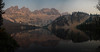Crammer Lake Sunset (Kieran Enzian) Tags: idaho sawtooths mountains sunset lake usa national forests reflection colors camping backpacking stanley redfish backcountry