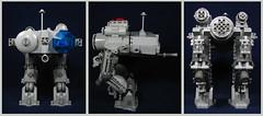 Ma.K Intosh (Karf Oohlu) Tags: lego moc walker reconnaissanceunit minifig