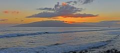 View of Lanai at Sunset, Lahaina, Maui, Hawaii, USA (trphotoguy) Tags: westmaui maui hawaii hi sunset lanai lahaina coast ocean island pacificocean 3570mmf28d