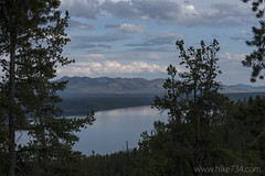 "Shoshone Lake from Divide Trail • <a style=""font-size:0.8em;"" href=""http://www.flickr.com/photos/63501323@N07/29949942706/"" target=""_blank"">View on Flickr</a>"