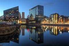 0210 (ElitePhotobox2) Tags: liverpool docks glass buildings towers blocks luminance hdr krita