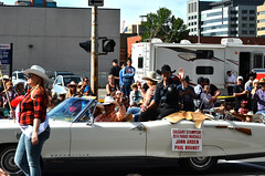 Paul Brandt (pokoroto) Tags: people paul brandt parade calgarystampede calgary カルガリー アルバータ州 alberta canada カナダ 7月 七月 文月 shichigatsu fumizuki bookmonth 2016 平成28年 summer july