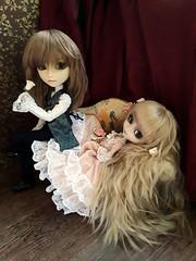 Forbidden love (Lunalila1) Tags: doll groove junplaning pullip handmade outfit taeyang filato ivan kovalsky seila irina medevkin