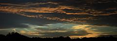 Abendrot Panorama 3 (Rüdiger Stehn) Tags: 2000s europa mitteleuropa deutschland germany norddeutschland schleswigholstein 2000er altenholz altenholzstift abendrot abend abendstimmung himmel wolken sonnenuntergang 2016 cloudsstormssunsetssunrises canoneos550d