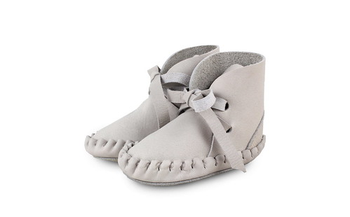 Bootie Pina Leather Grey