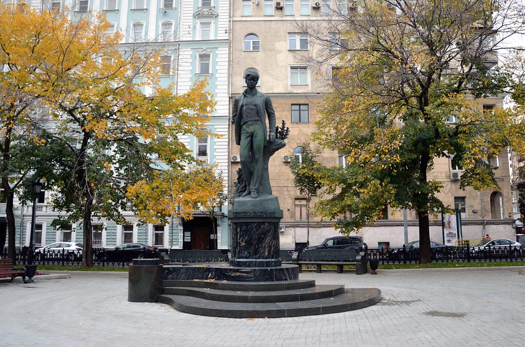 фото: С.А. Есенин / Sergei Yesenin statue