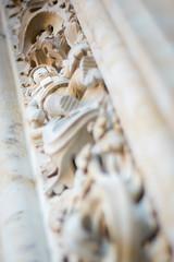 Catedral Nueva (Salamanca) (Santi R. Muela) Tags: zeiss t 50mm cityscape bokeh f14 sony contax carl mf alpha yashica cy a7 planar ilce7