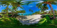 Vaimoana beach - Virtual reality tour in description (Nick Hobgood) Tags: panorama 21 panoramas 360 virtual virtualreality reality 360x180 vr augmentedreality equirectangular nickhobgood roundme flickrvr