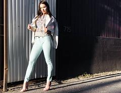 Stephanie (ibehzad) Tags: portrait girl fashion losangeles model nikon photoshoot modeling turquoise d7000 bizzybez