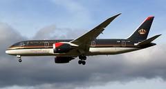 Royal Jordanian Boeing 787-8 Dreamliner JY-BAE Profile (Mark 1991) Tags: london heathrow boeing lhr heathrowairport 787 royaljordanian londonheathrow dreamliner 7878 jybae