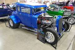 1931 Ford ModelA (bballchico) Tags: 1931 ford modela hotrod blue1 5window coupe bobmacconnell loismacconnell 206 washingtonstate