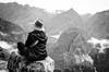 Machu Picchu (David Visual) Tags: bw mountain blanco peru machu picchu cuzco america y south negro bn sur montaña montañas wayna wunderlust