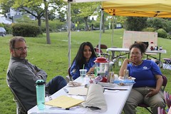May 9 SSN W Magnolia Playfield Hubmore  with FEMA youth team helping at hub