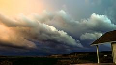 twilight (drstar.) Tags: sky storm weather clouds evening twilight flickr flickrturkey