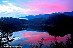 munnar (Prashob adithiruthy) Tags: sunset red nikon dam viewpoint munnar nikon5100 nikon70300 kundala nikon1855 kundaladam pambadumshola