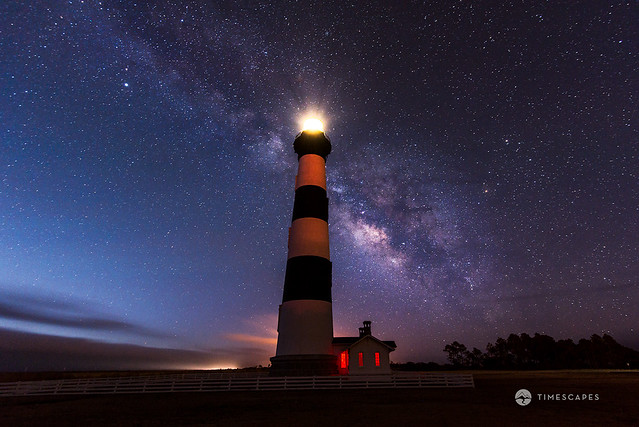Astro End -  Bodie Island Lighthouse