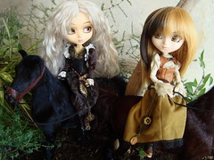 Orto y las magas (Lunalila1) Tags: horse outfit doll handmade wizard groove pullip sigrid steampunk malva junplaning barasuishou zuora