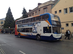 CAMBUS 19017 MX06XAS CAMBRIDGE 010415 (David Beardmore) Tags: mx06xas stagecoachmanchester stagecoachinmanchester gmbusessouth stagecoachincambridge cambus doubledeckerbus alexanderdennis enviro400 ad e400