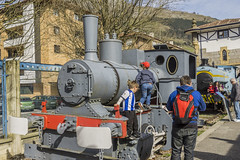 Railroad Museum. Museo Ferrocarril. Azpeitia. Basque Country (hajavitolak) Tags: railroad people museum children gente sony country evil nios 28 museo tamron basque euskadi basquecountry 6000 csc ferrocarril guipuzcoa railroadmuseum azpeitia ilce 2470 euzkadi milc sinespejo apsc tamron2470 mirrorless museoferrocarril a6000 tamron247028 ilce6000
