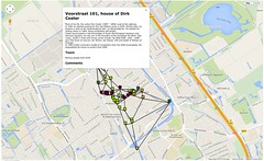 j-walk map of Delft