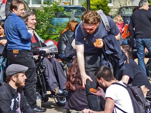 1. Mai in der Bonner Altstadt