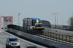 Eerste metro 2015-04-15 at 10-55-36 (Guda G) Tags: amsterdam metro transport nz noordzuidlijn amsterdamnoord nzlijn buiksloot northsouthline buikslotermeer proefrit nietinstappen nieuweleeuwarderweg nieuwepurmerweg eerstemetro