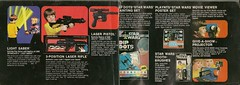 Kenner - 1979 Star Wars Catalog (Darth Ray) Tags: show light 3 set tooth painting movie poster star projector rifle give pistol saber brushes laser catalog kenner wars dots viewer dip 1979 position toothbrushes a giveashow 3position playnts