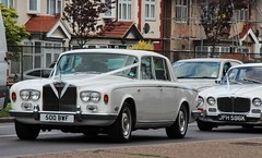 500 BWF (Nivek.Old.Gold) Tags: wedding shadow silver rollsroyce 28 1972 1976 daimler sovereign 6750cc