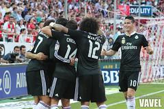 Sevilla - Real Madrid 063 (VAVEL España (www.vavel.com)) Tags: sevilla marcelo 1415 realmadrid sevillafc realmadridcf primeradivisión ligabbva jamesrodriguez chicharitohernandez jornada35 juanignaciolechuga