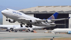United Airlines (N182UA) (A Sutanto) Tags: ua united airlines plane spotting sfo ksfo boeing b747 b744 jet san francisco international airport