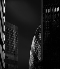 Build a Rocket Boys (mike-mojopin) Tags: longexposure blackandwhite bw london architecture fineart le gherkin cityoflondon tiltshift
