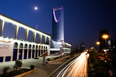 Riyadh Downtown (Sarfraz Abbasi [0.75 million views, Thanks]) Tags: blue night evening downtown hour saudi arabia riyadh