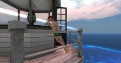 20160628 - PatrickUnicorn_27_001 (Patrick Unicorn) Tags: boy lighthouse top waiting high height beach shore sea